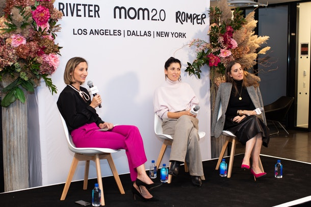 Bustle Digital Group Lifestyle Editor-in-Chief Emma Rosenblum moderated the second panel with Elena Nathan and Ariane Goldman.