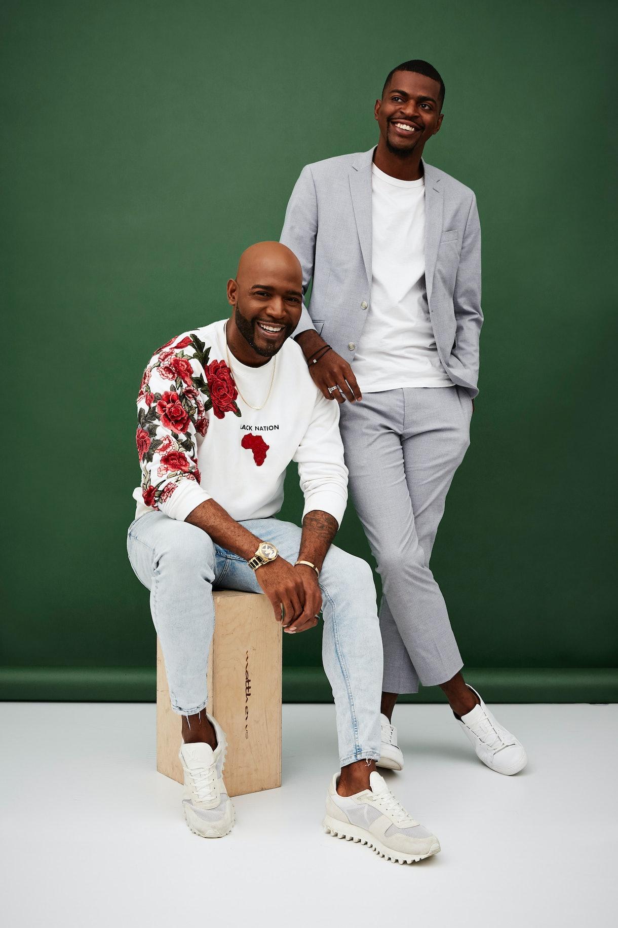 Karamo Brown and Jason Brown