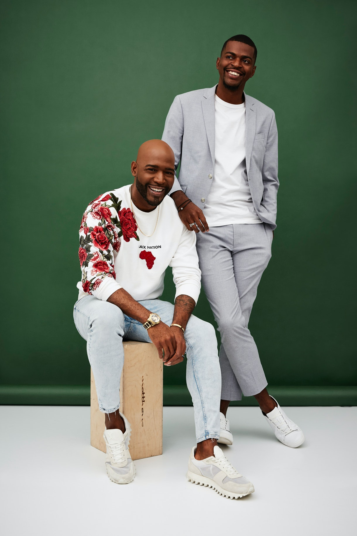 Karamo Brown and Jason Brown