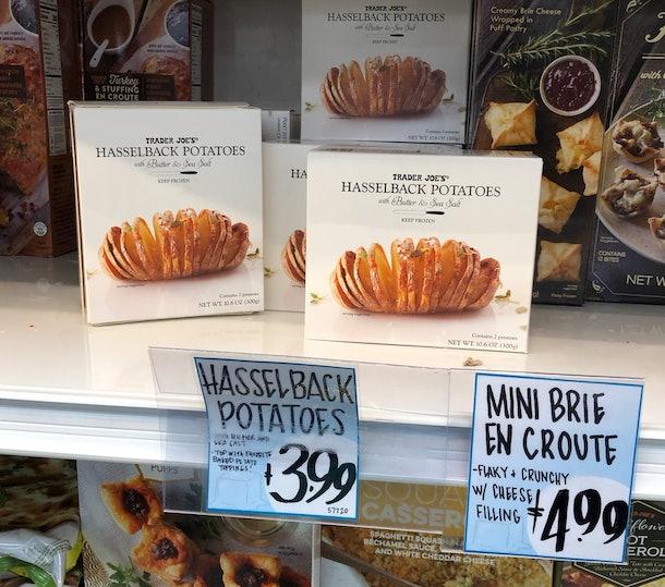 Perfectly crispy hasselback potatoes