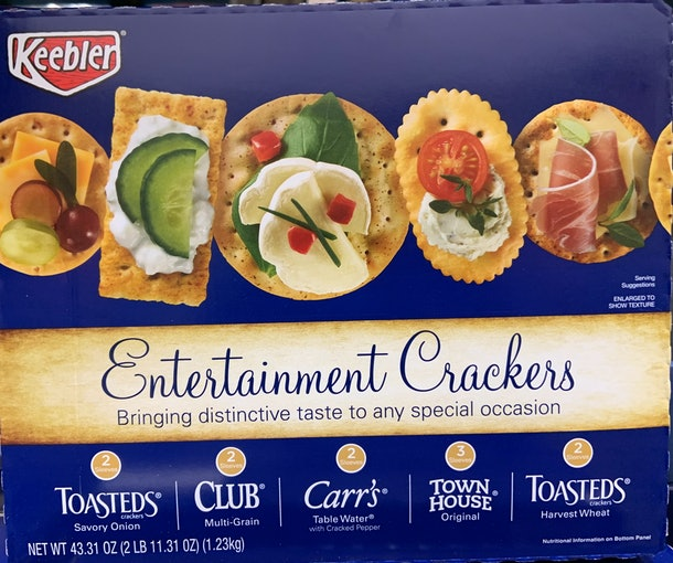 Keebler Entertainment Crackers from costco
