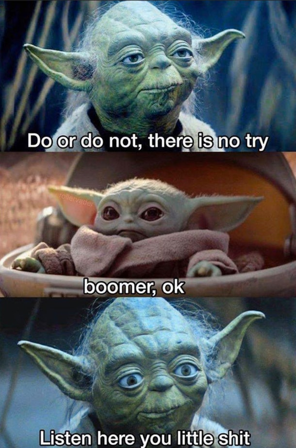 20 baby yoda memes because it 39 s the real star of 39 the. Black Bedroom Furniture Sets. Home Design Ideas