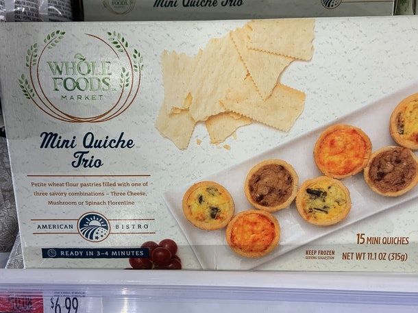 Whole Foods Mini Quiche Trio from Whole Foods