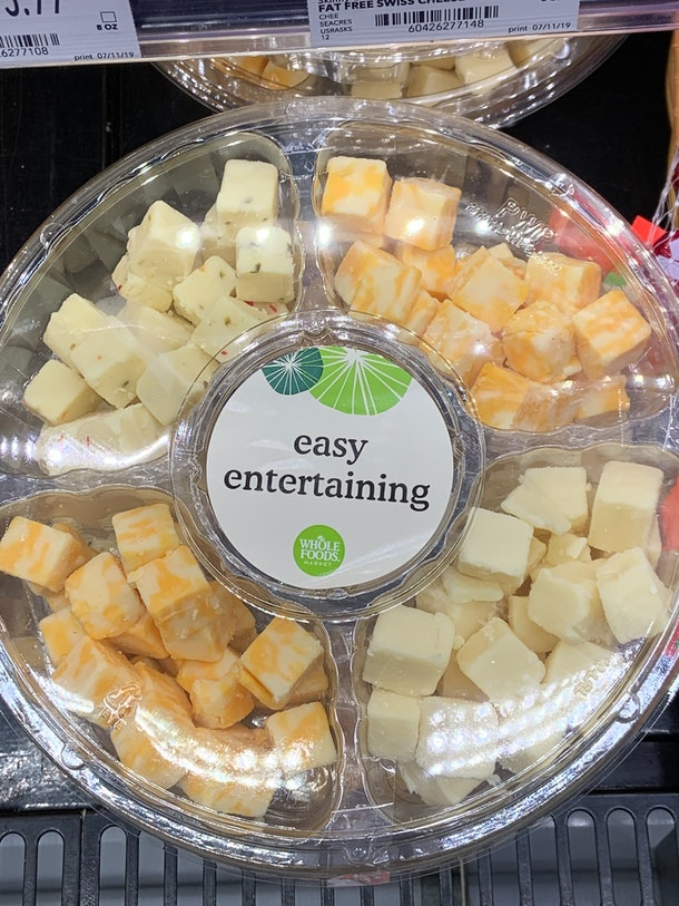 Whole Foods Easy Entertaining Cheese Tray from Whole Foods
