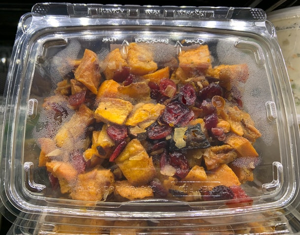Roasted Butternut Squash With Cranberries from Whole Foods