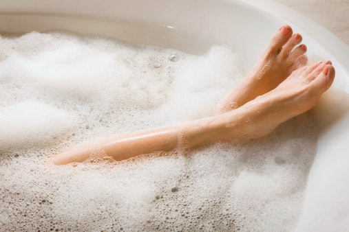 how to get turned on quickly, bubble bath