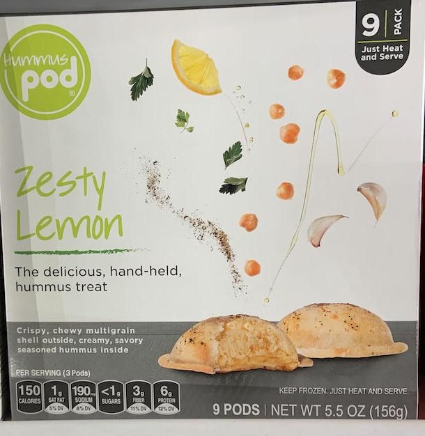 Hummus Pod Zesty Lemon from Whole Foods