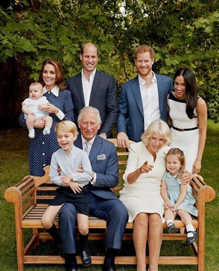 Prince Charles celebrated his 70th birthday with a candid photo featuring a giggling Prince George in 2018.