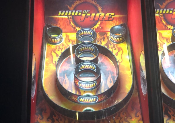 Ring of fire arcade game