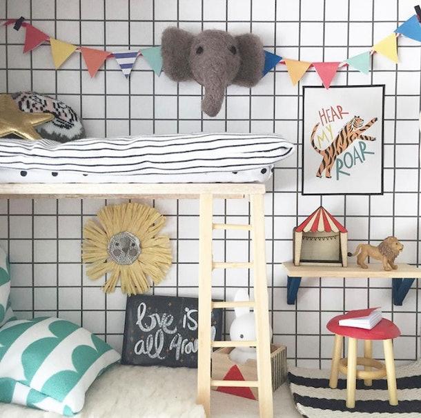 Dollhouse design on Instagram