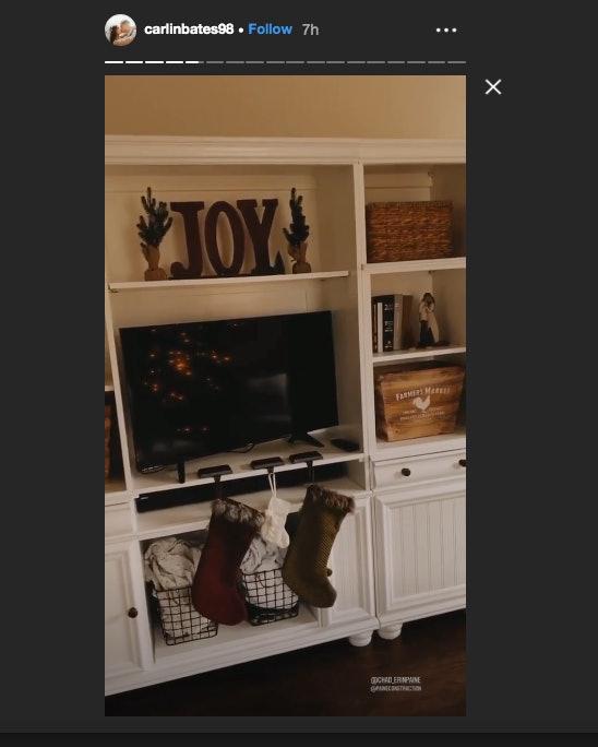 Carlin Bates' living room.