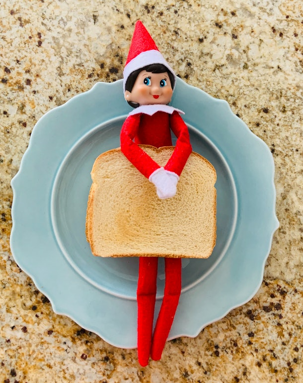 Elf on the Shelf sandwich