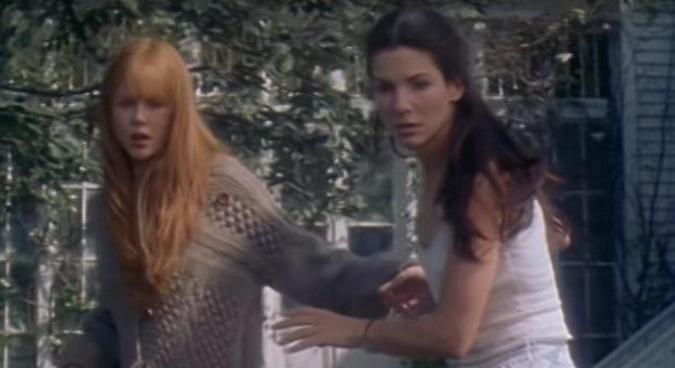 Movie still of Nicole Kidman and Sandra Bullock in 'Practical Magic'