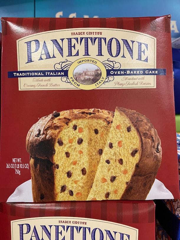 best trader joe's holiday desserts: panettone
