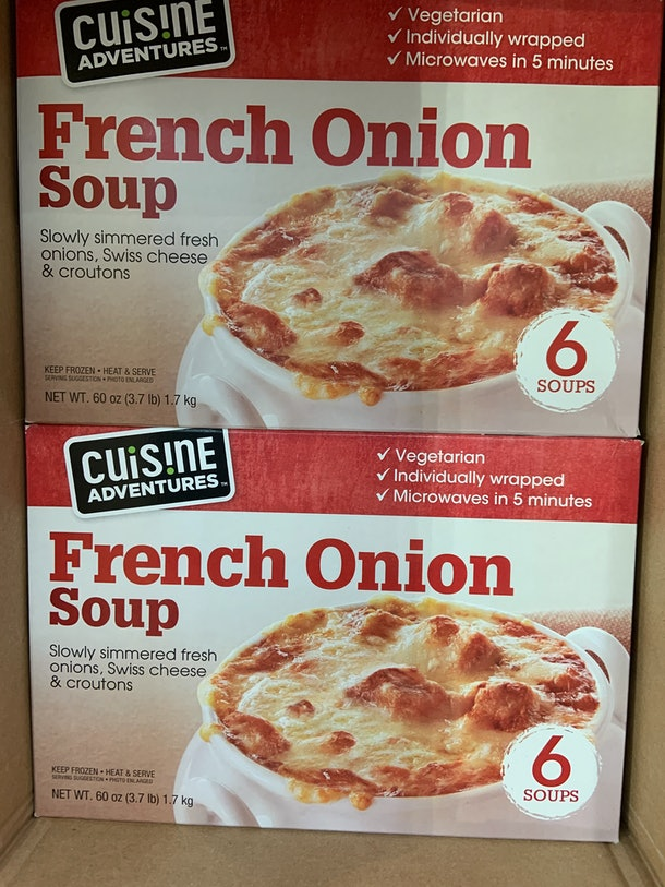 Cuisine Adventures French Onion Soup