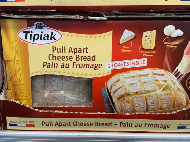 Tipiak Pull Apart Cheese Bread