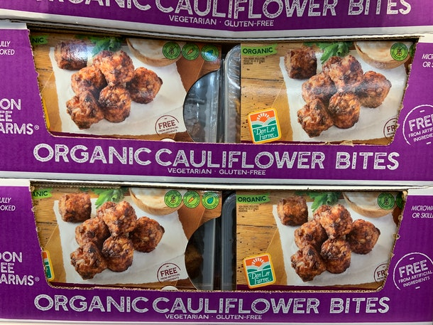 Don Lee Farms Organic Cauliflower Bites
