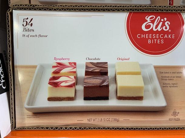 Eli's Cheesecake Bites