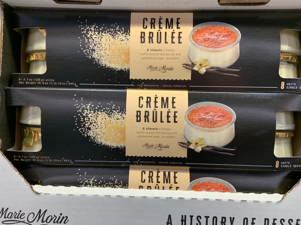 Marie Morin Crème Brulee
