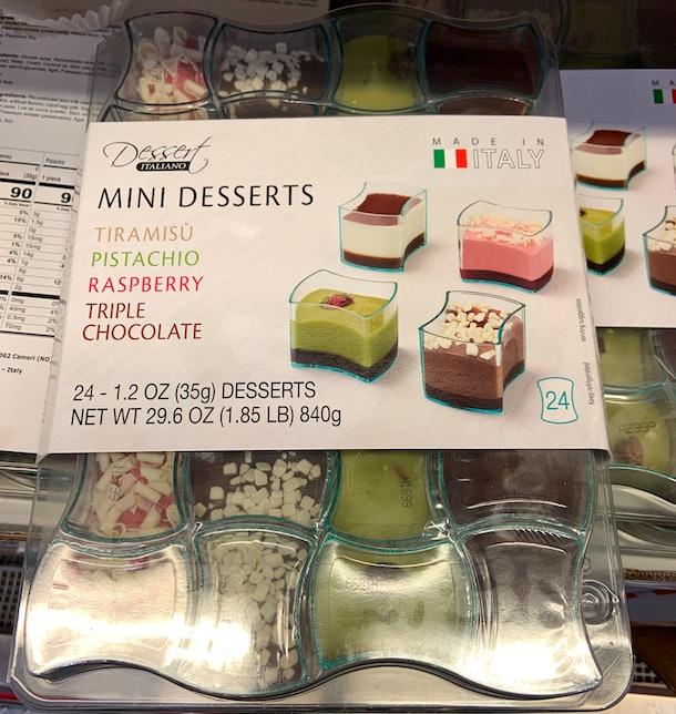 Dessert Italiano Mini Dessert