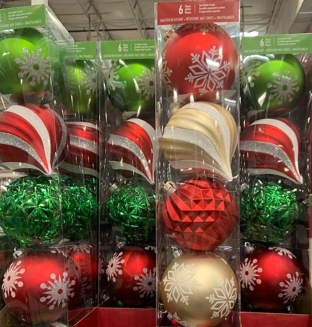 Shatter-Resistant Ornaments