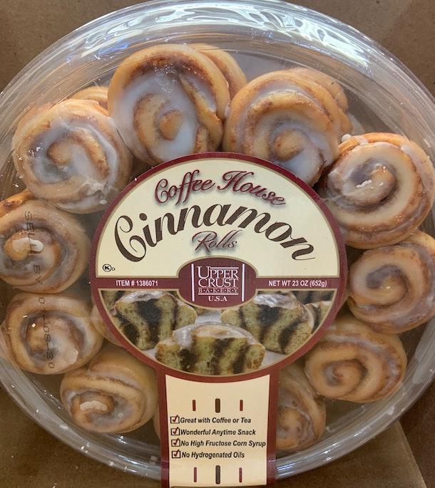 Coffee House Cinnamon Rolls
