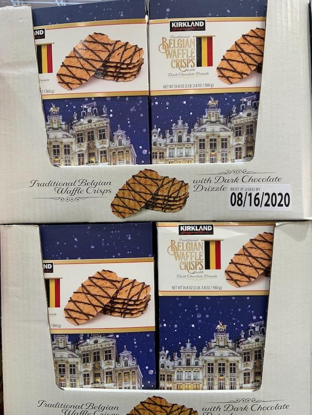 Belgian Waffle Crisps