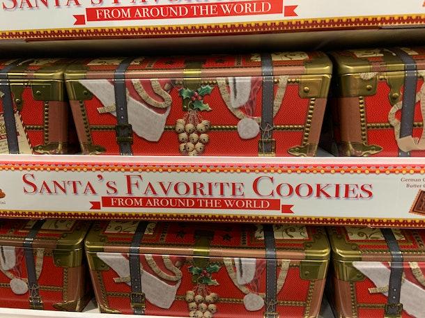 Santa's Favorite Cookies