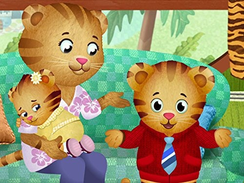 Daniel Tiger teaches that using your words can help express your feelings.