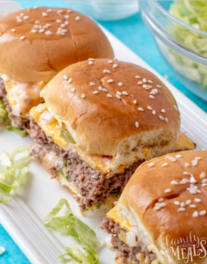 Healthier McDonald's at home? That's what this beef sheet pan recipe promises.