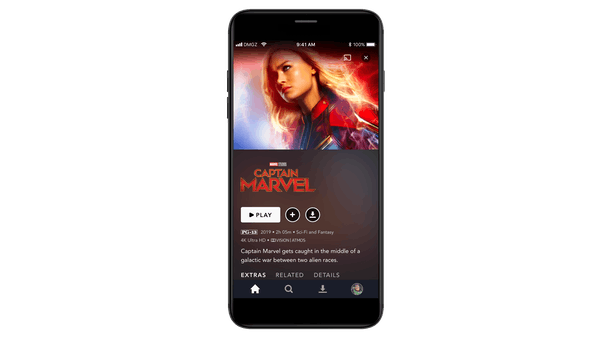 Stream Disney+ on any Android or Apple phone.