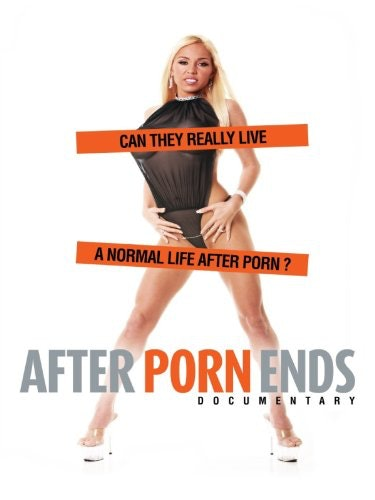 A movie poster from the documentary After Porn Ends.