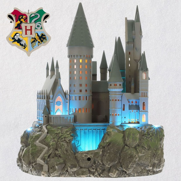 Harry Potter Christmas Tree Topper: This Harry Potter Hogwarts Tree Topper Will Brighten Up
