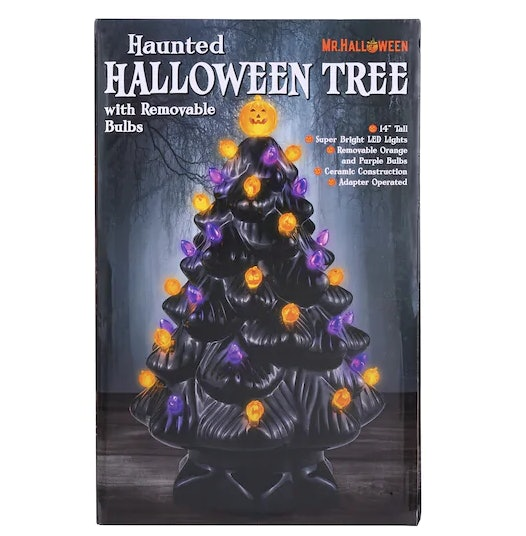 Michaels Ceramic Halloween Christmas Tree Takes Your