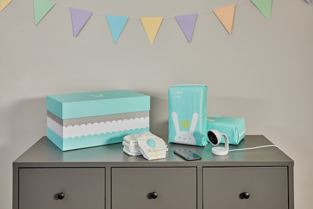 """Lumi by Pampers is a """"smart"""" way to diaper your baby with monitoring."""
