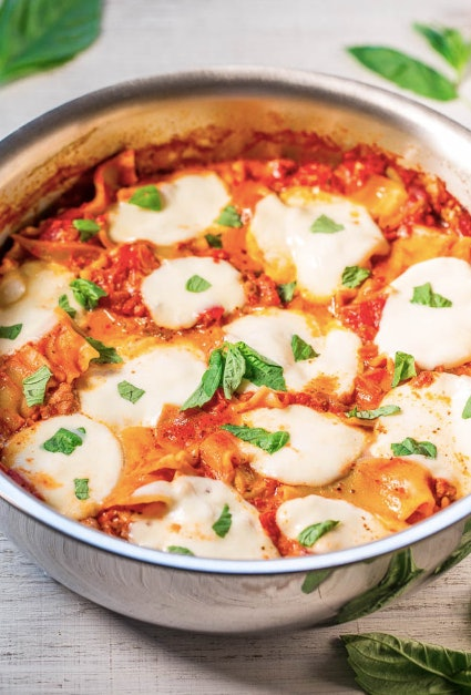 Lasagna in 30 minutes? Where do we sign?