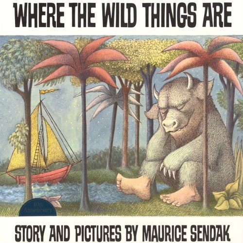 Where The Wild Things Are Audiobook Cover