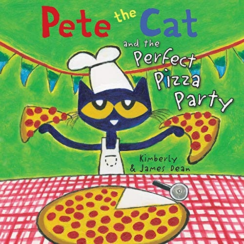 Pete The Cat And The Perfect Pizza Party Audiobook Cover