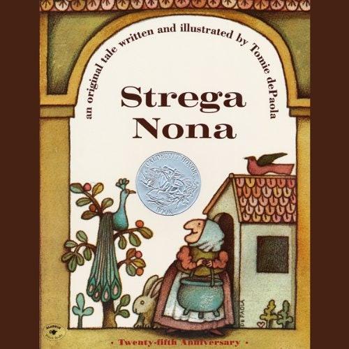 Strega Nona Audiobook Cover image