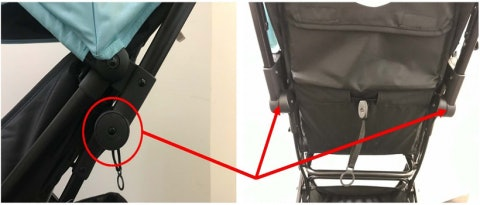 Baby Trend is voluntarily recalling strollers that were sold at Target and Amazon after finding their hinges can collapse when under pressure, posing a fall hazard to children inside the stroller.