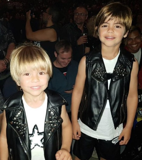 Maybe Shakira's sons will follow in their mom's footsteps.