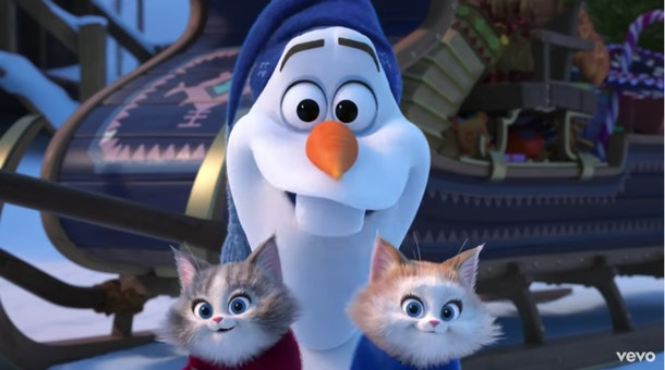Kids find Olaf very relatable, experts say.
