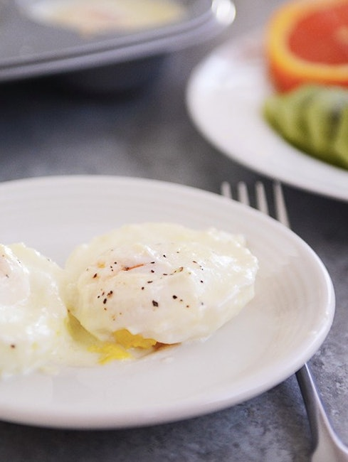 Poached eggs just got a whole lot easier to make