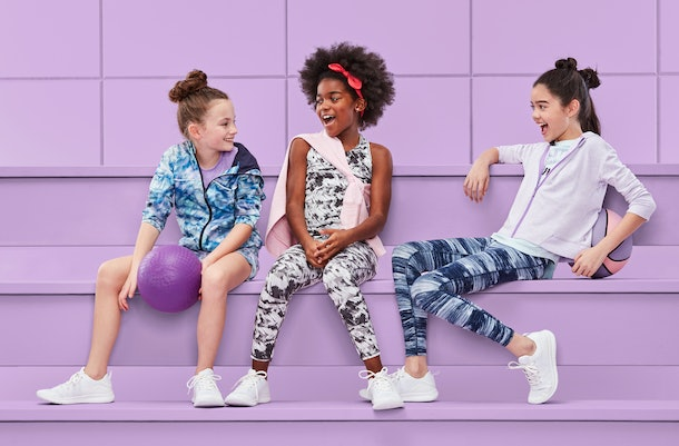 The kids' line from All in Motion is bright and high quality.
