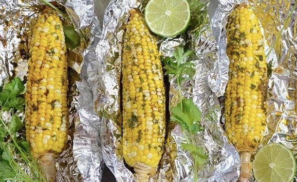 Lime adds a little tang to this corn recipe