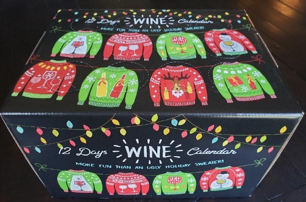 12 Days of Wine Calendar