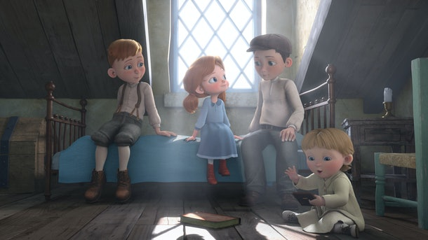 A young girl works to reunite her family in time for the holidays