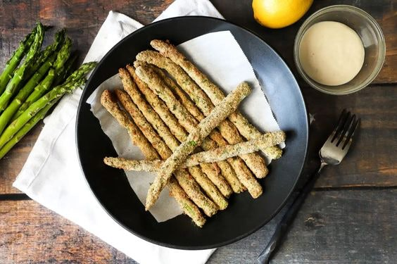 air fryer asparagus fries