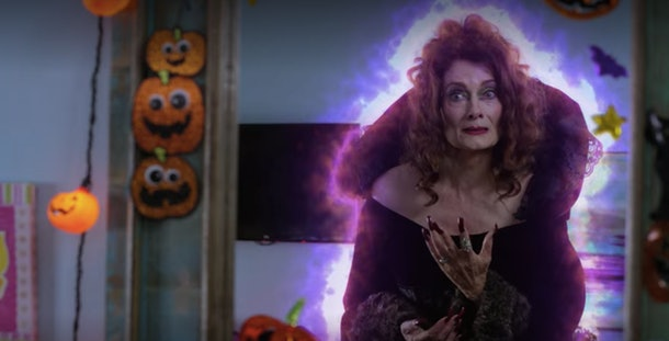 A girl named Eve accidentally summons a witch on Halloween