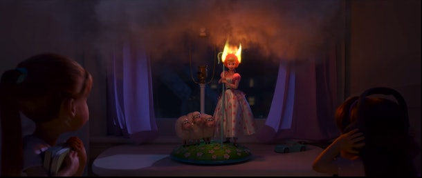 """""""Lamp Life"""" on Disney+ reveals how Bo Peep ended up at the antique shop."""